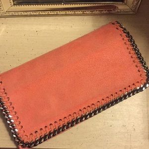 Stella McCartney wallet in amaryllis